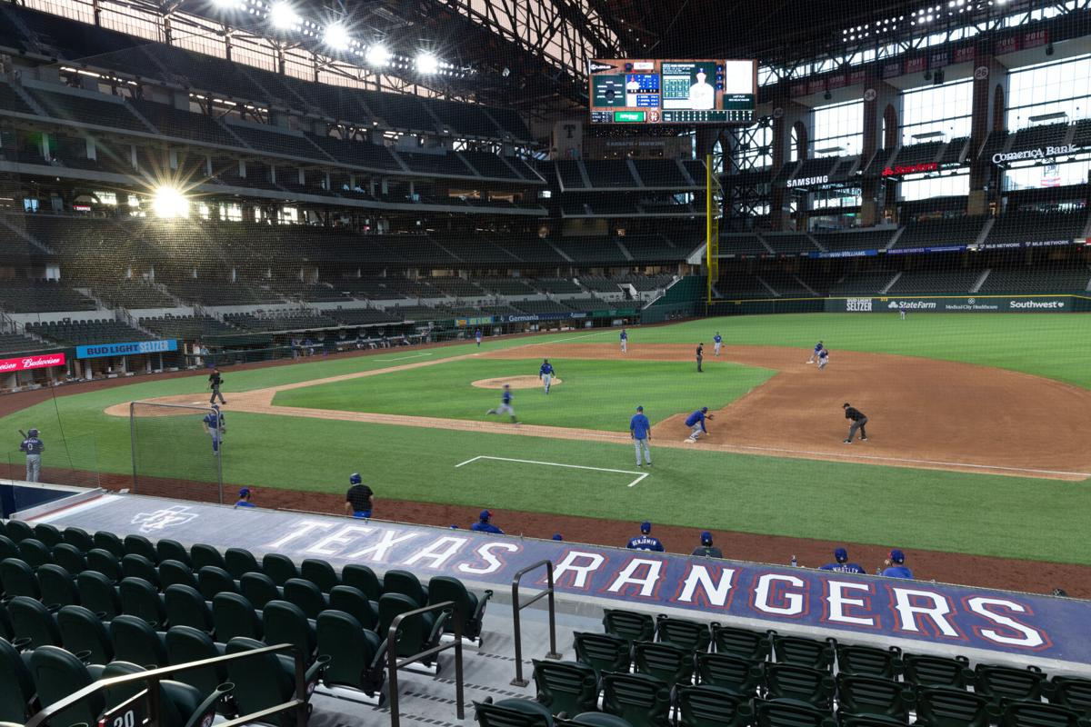 Photos: Texas Rangers host summer camp, intrasquad games to prepare for delayed season start