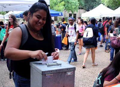 Student Government encourages student voter participation