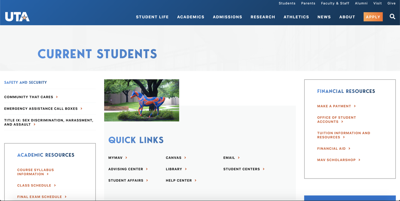 Out with the old and in with the new: second wave of updates hits UTA's website