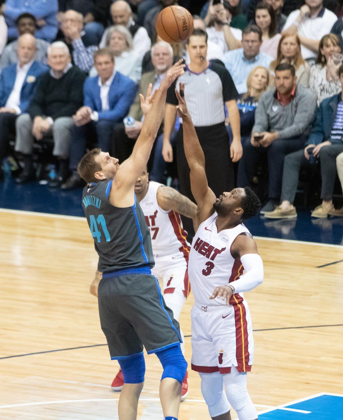 Photos: Dallas Mavericks fall to Miami Heat on UTA Night
