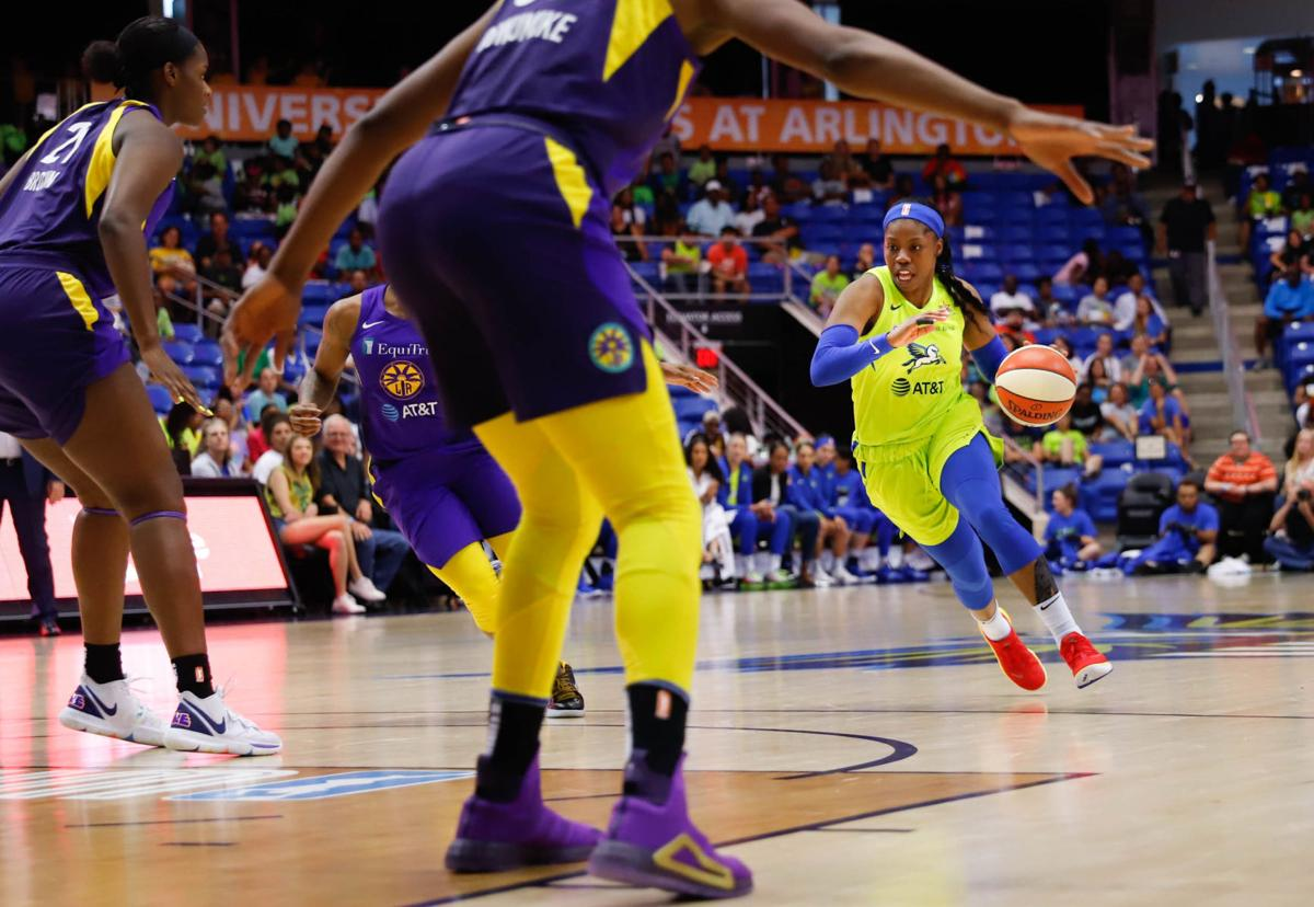 Photos: Dallas Wings dominate the court winning 74-62