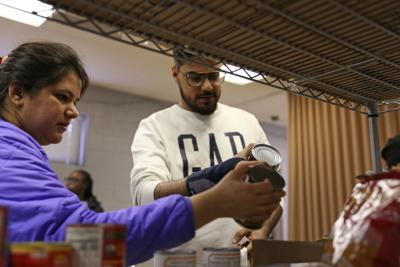 Tri-C and UTA Volunteers combat food insecurity on campus with bi-monthly food pantry distributions (copy)