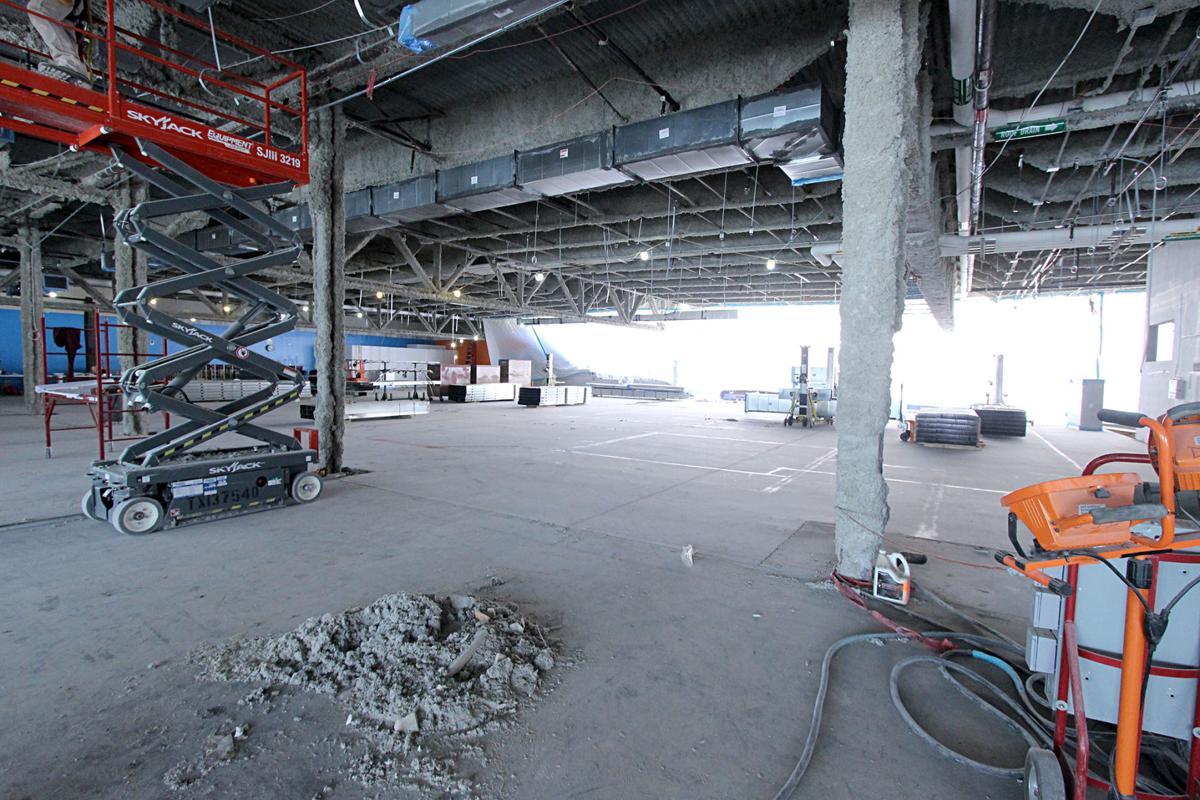 uta building new career center