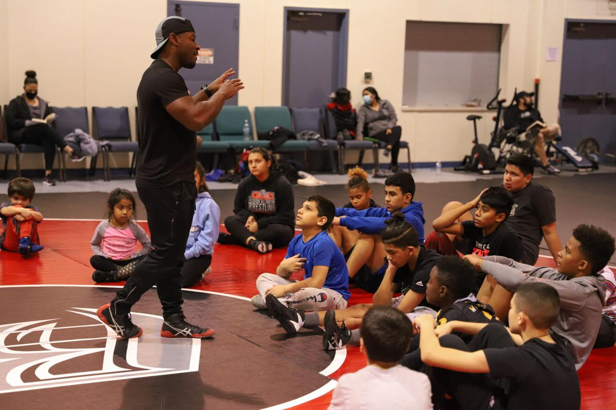 Photos: Mission Wrestling teaches children self-discipline to grapple with life's challenges