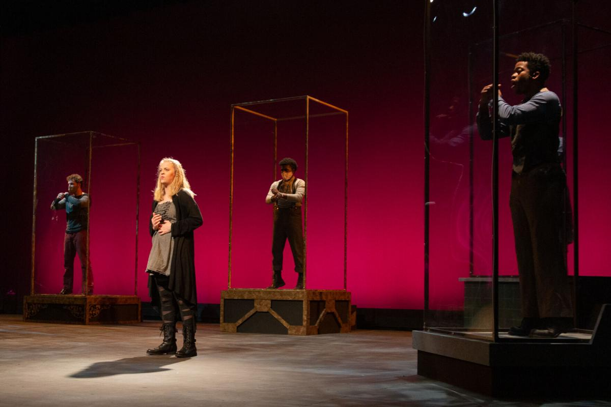 How the UTA Theatre Arts Department overcame the challenges of producing the musical Spring Awakening