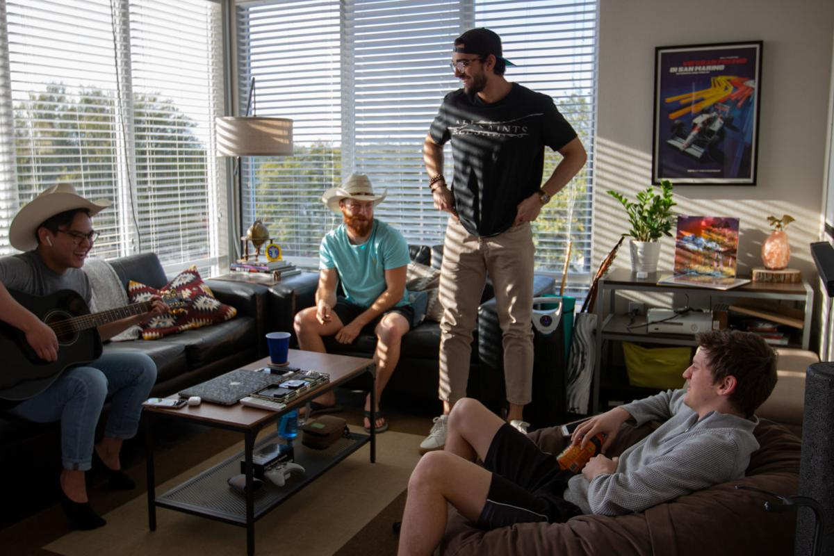 Students create a home away from home