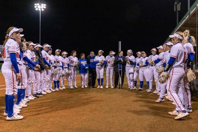 UTA softball suffers back-to-back losses to University of Arkansas in season-opening doubleheader