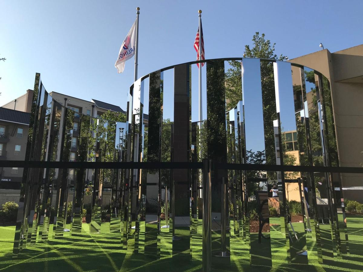 Interactive art installation unveiled near Downtown Library