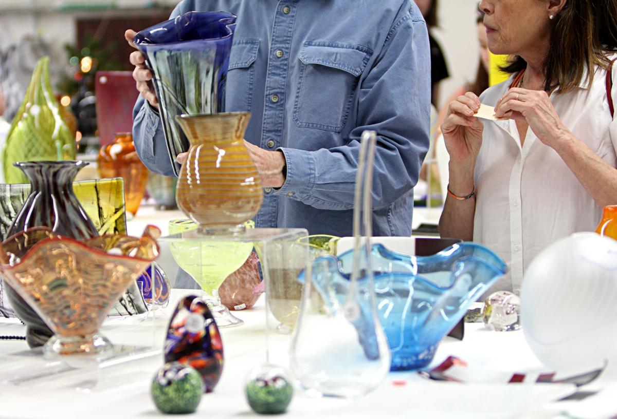 UTA showcases art at annual Glass Art Show and Sale