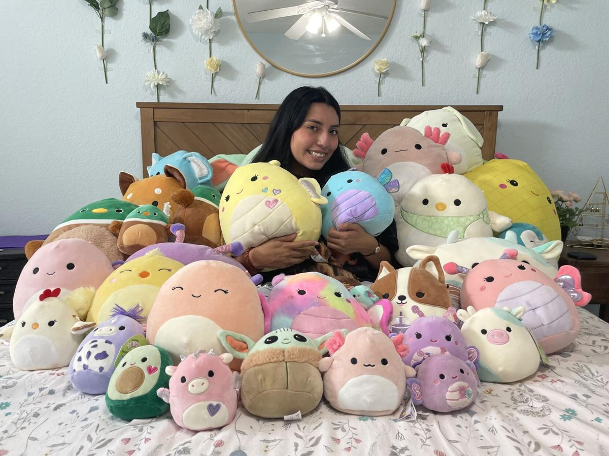 Plush toys like Squishmallows soothe students' stress during pandemic