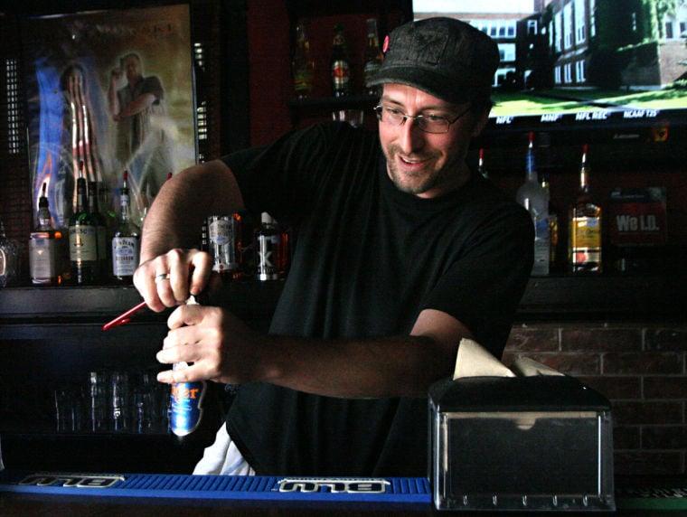 Paul Logston, former bartender at Bentley's
