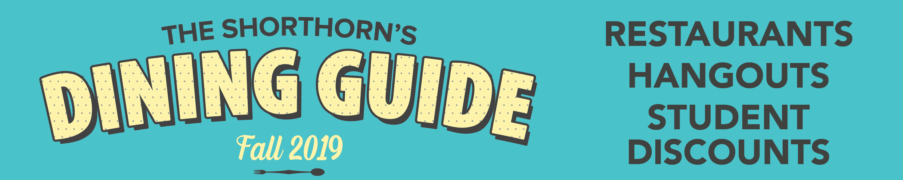 Shorthorn Dining Guide Header Image