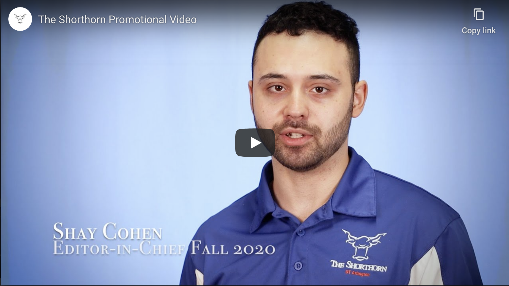 Shorthorn Promo video 2020 with Shay Cohen