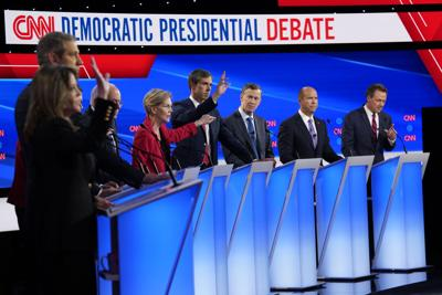 Democratic presidential candidates debate at The Fox Theatre