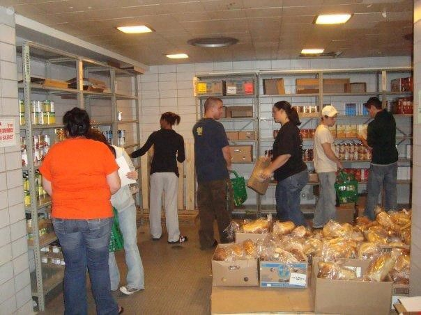 """Visiting the food pantries at other Michigan universities played a big role in helping us visualize, create and model a food pantry that we like,"""