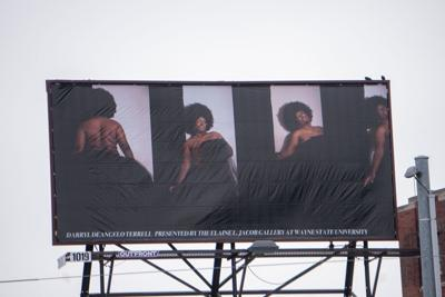 WSU brings art to Detroit billboard through 'In the Air: Voices from Detroit and Beyond'