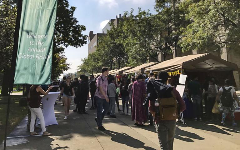 OISS hosts annual Global Festival, Study Abroad Fair
