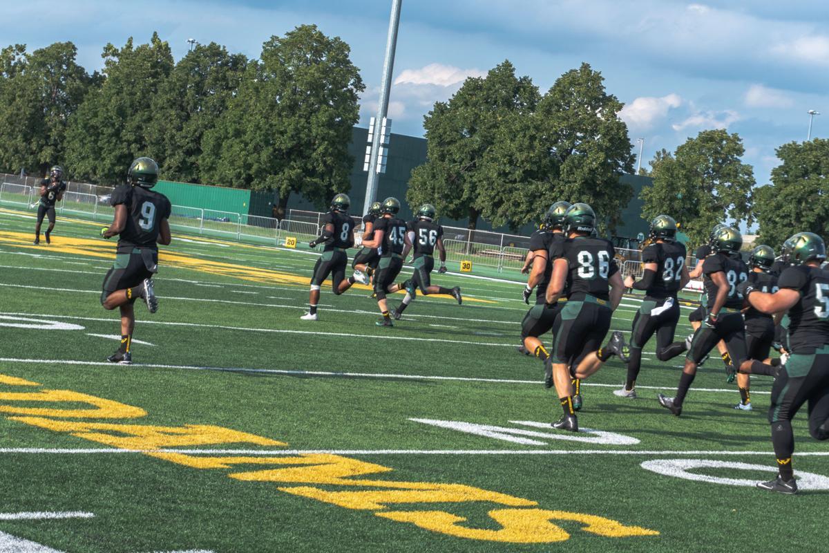 WSU vs. Walsh University, Aug. 30