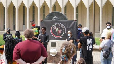 BSU demonstrates in reaction to 'disappointing' response from WSU on recent demands