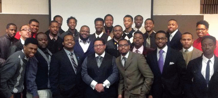 Wayne State's chapter of the Student African American Brotherhood