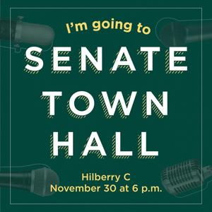 Student Senate hosts general town hall meeting