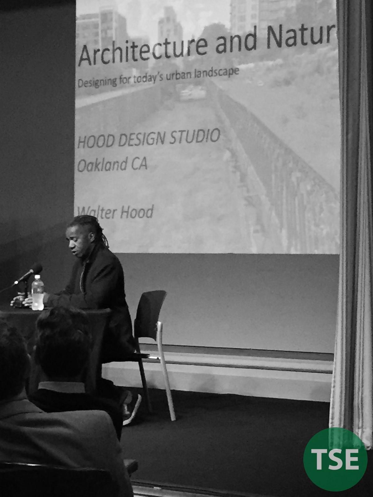 Culture Lab Detroit presenter Walter Hood