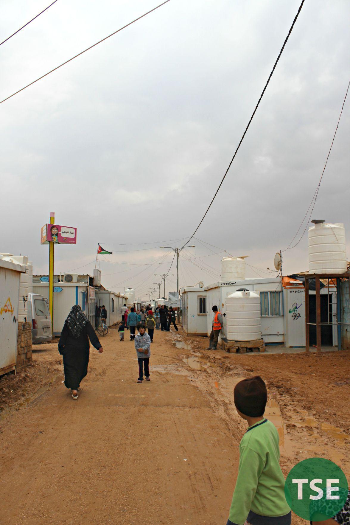 Zaatari refugee camp