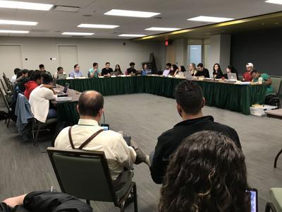 Student Senate passes educational resources resolution, discusses Campus Master Plan
