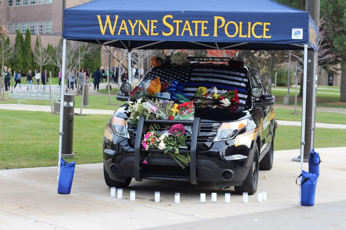 Officer Rose's squad car memorialized in Gullen Mall