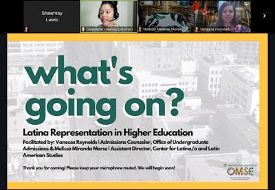 Panel highlights need for greater Latina representation at WSU