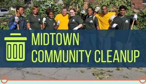 Wayne State, Midtown Detroit Inc. host neighborhood cleanup