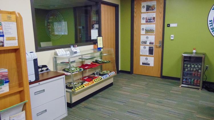Veteran's Center in the Student Center
