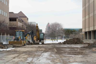 Gullen Mall construction
