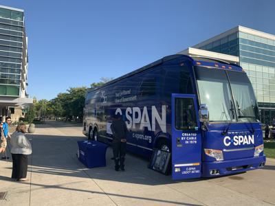 C-SPAN talks 2020 elections at WSU