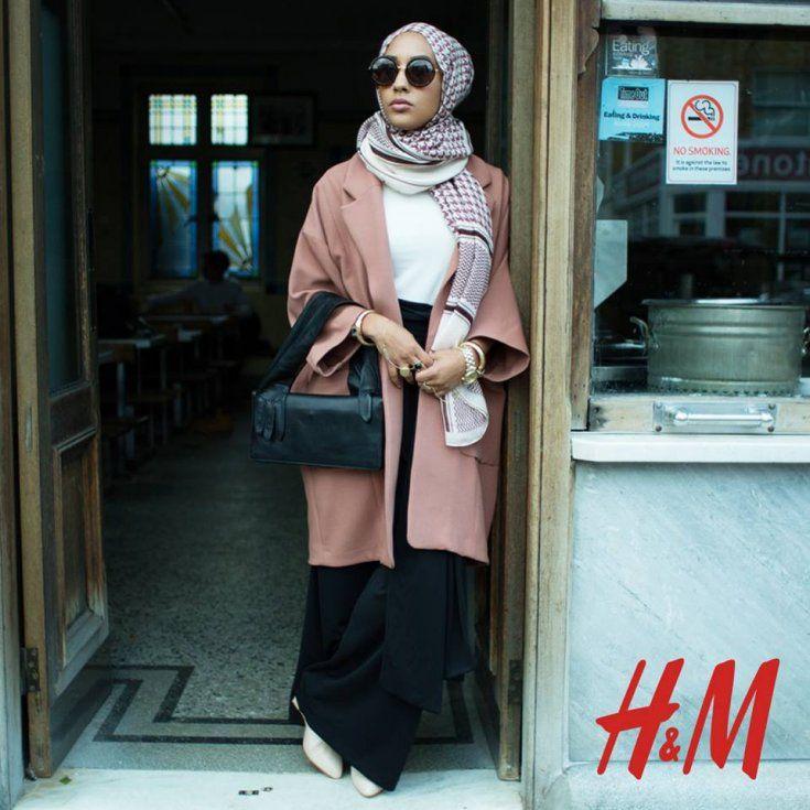 "H&M campaign ""Close the Loop"" featuring model Mariah Idrissi"