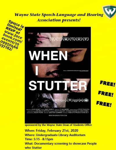 Student organization explores, brings awareness to stuttering through film