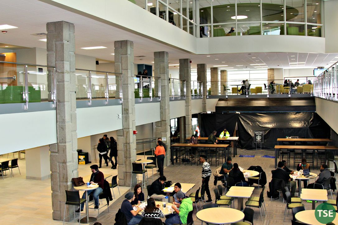 Student Center Re-modeled and Re-opened
