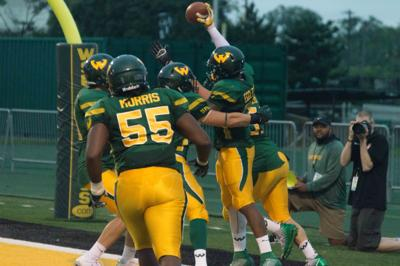 WSU football outlasts SVSU in conference opener