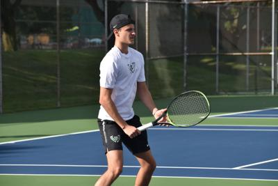 Men's tennis begins quest to defend conference title