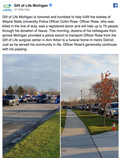 """""""This is a tragedy felt by all of us -- Collin and his family and friends, his fiancée, and our campus and community,"""" President Wilson said."""