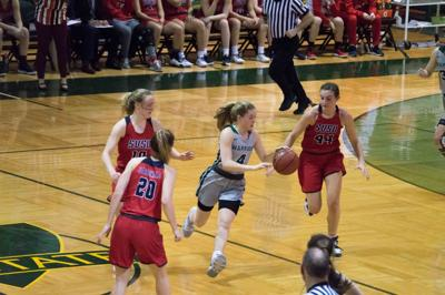 Women's basketball pulls away with win against SVSU