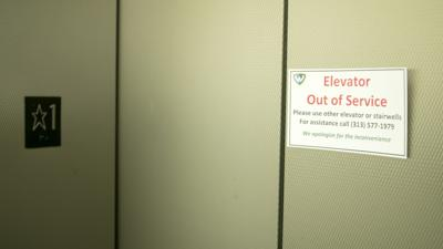 Elevator maintenance funds 'not enough'