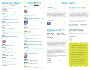 Catch a free movie at New Center Park