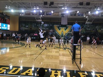 WSU volleyball falls to SVSU, sweeps LSSU