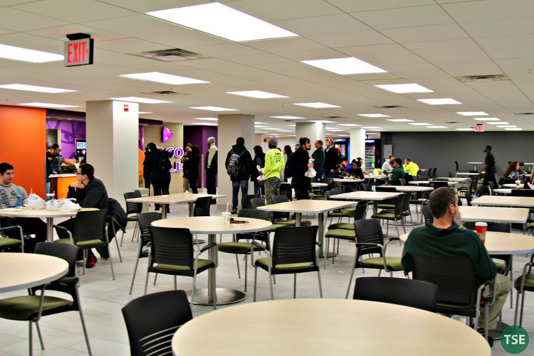 Student Center remodeled and reopened