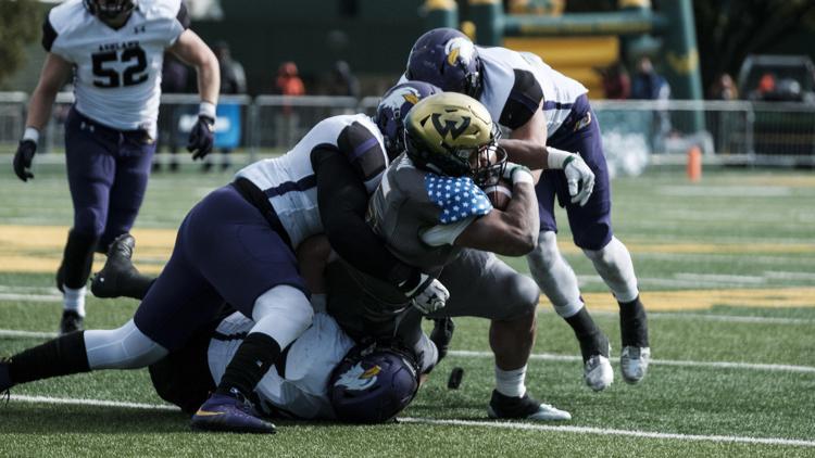 WSU football vs Ashland