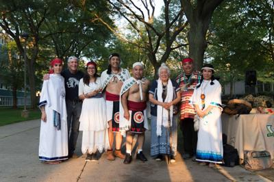 Combating colonialism: Native American student group holds fifth annual Peace and Dignity Ceremony