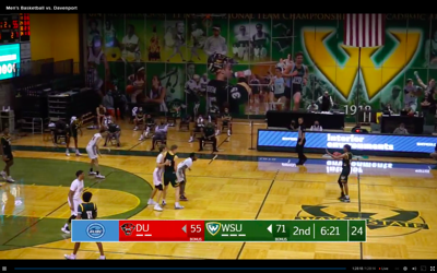 WSU men's basketball wins home opener