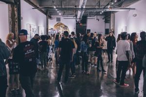 Art exhibition draws interest
