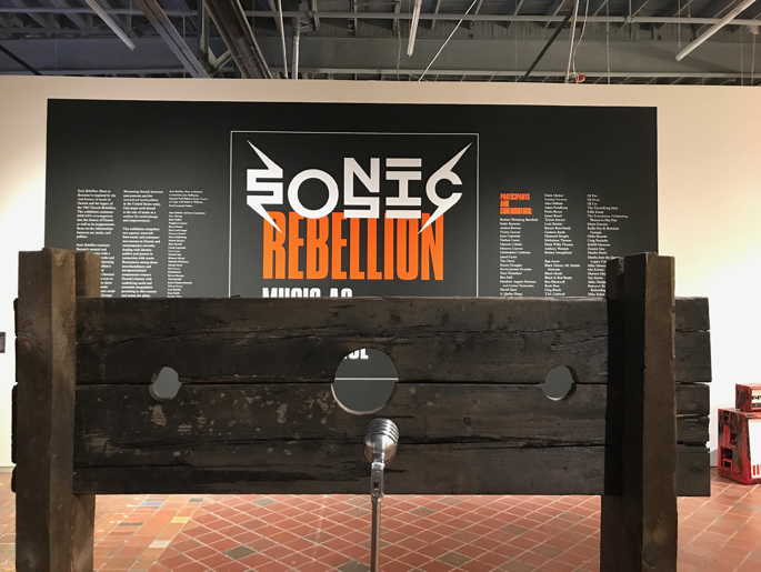 Music as Resistance is the newest exhibit continuing the Museum of Contemporary Art's theme of examining Detroit history through art, music and politics.